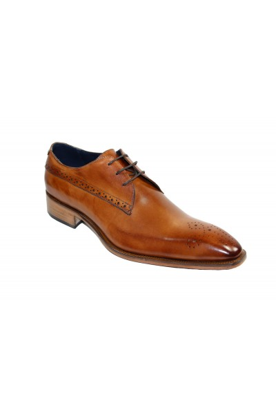 Duca by Matiste Men's Shoes - Made in Italy - Ravello - Cognac