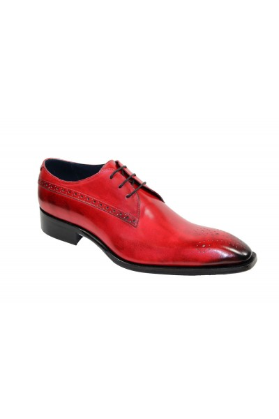 Duca by Matiste Men's Shoes - Made in Italy - Ravello - Red