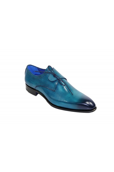 Men's Shoes by Emilio Franco - Turquoise