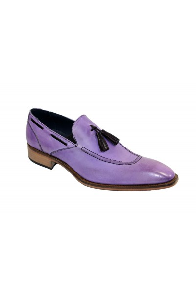 Duca by Matiste Men's Shoes - Made in Italy - Rieti - Lavender