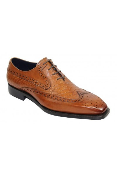 Duca by Matiste Men's Shoes - Made in Italy - Salerno Cognac