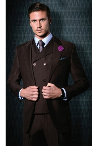 tiglio, tiglio suits, brown tiglio, tiglio sale, mens suits