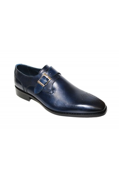 Duca by Matiste Men's Shoes - Made in Italy Siena - Navy