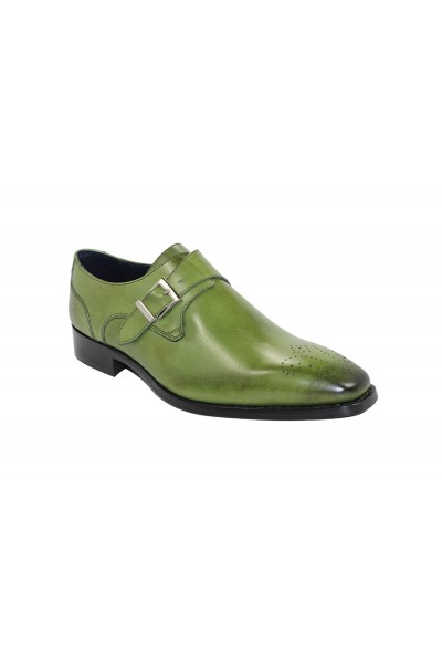 Duca by Matiste Men's Shoes - Made in Italy - Siena - Olive
