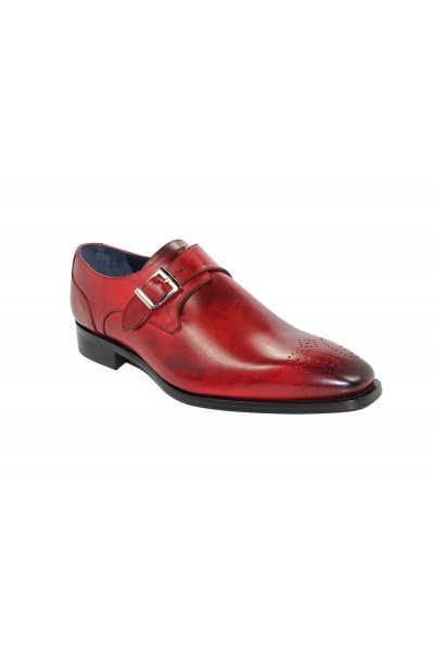 Duca by Matiste Men's Shoes - Made in Italy Siena - Red