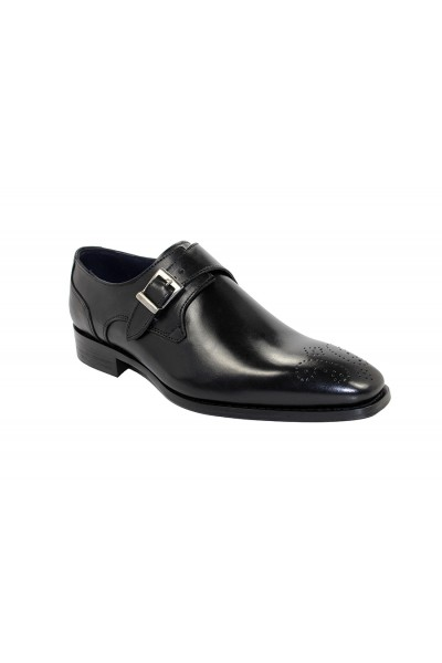 Duca by Matiste Men's Shoes - Made in Italy - Siena Black