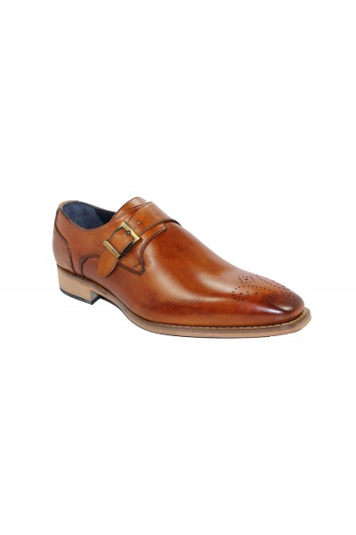 Duca by Matiste Men's Shoes - Made in Italy - Siena Cognac