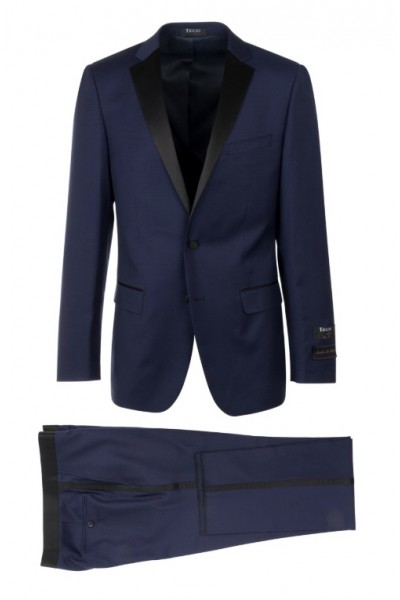 Slim Fit Tuxedo by Tiglio Luxe - Sienna Blue