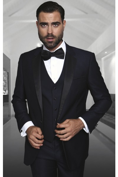 Men's Fashion Tux by STATEMENT - Taranto Navy