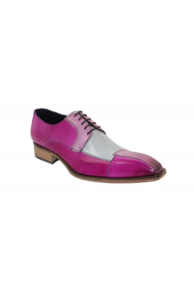 Duca by Matiste Men's Shoes - Made in Italy - Torino - Pink Combo