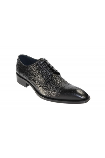 Duca by Matiste Men's Shoes - Made in Italy - Trento - Black