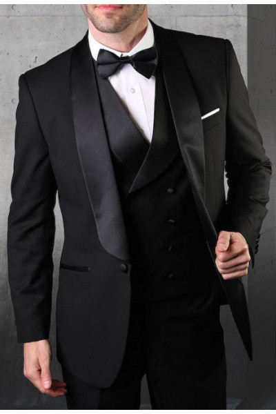 Men's Tux - Tailored Fit - Black