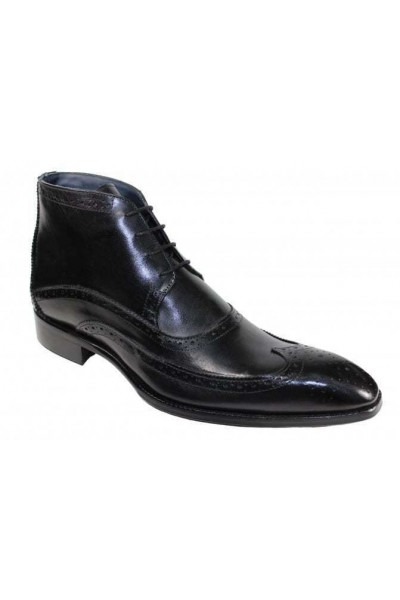 Duca by Matiste Men's Shoes - Made in Italy - Udine Black
