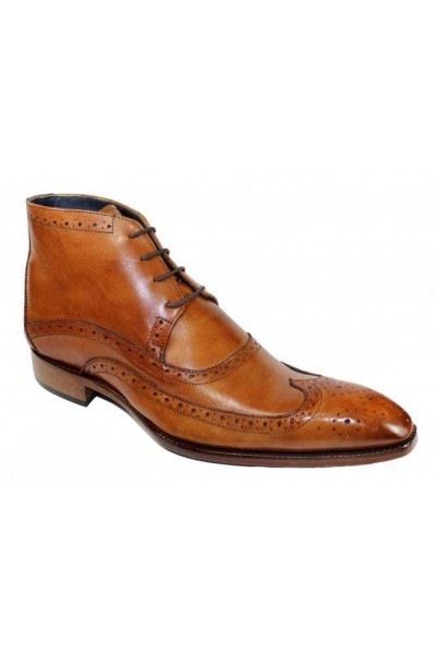 Duca by Matiste Men's Shoes - Made in Italy - Udine Cognac