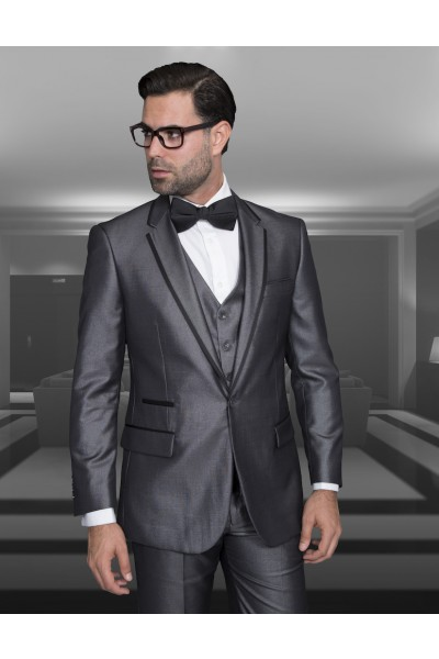 Men's Fashion Tux by STATEMENT - Venetian Gray