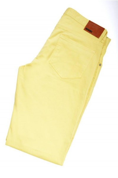 Tiglio Men's Jeans - Yellow