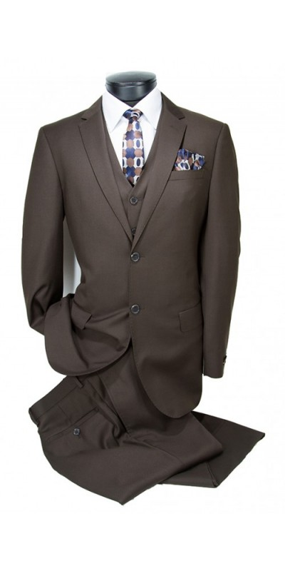 Vitarelli Mens Suit Brown