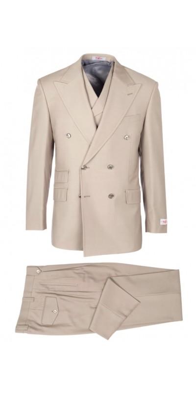 EST Men's Suit by Tiglio Rosso - EST Tan