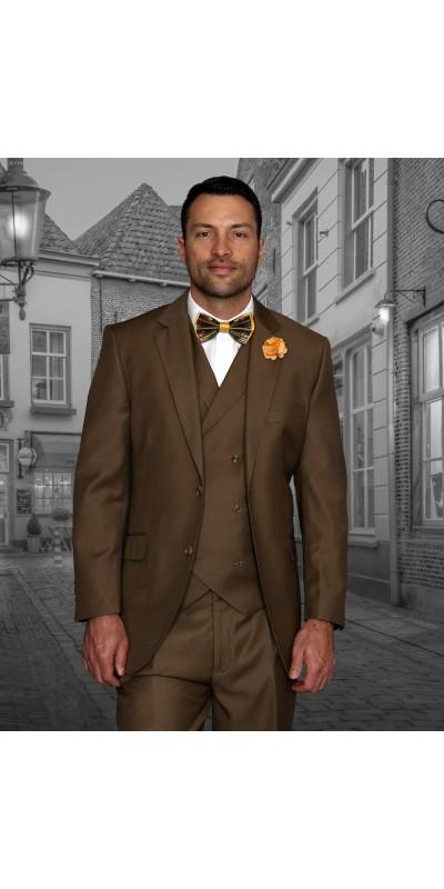 Men's Suit - Regular Fit - Messina Bronze