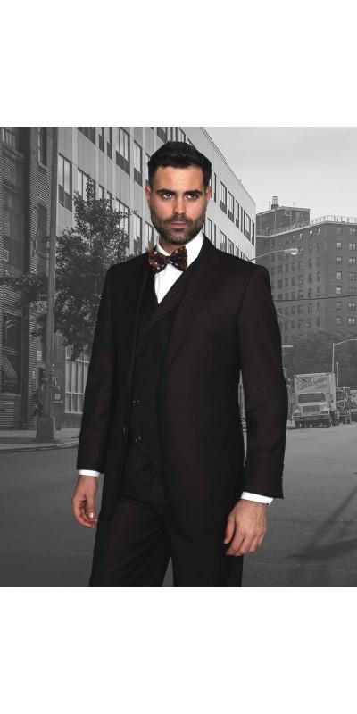 Men's Suit - Regular Fit - Messina Brown