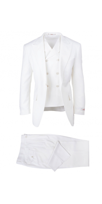 San Giovesse Full Cut Men's Suit  by Tiglio Rosso - Off White