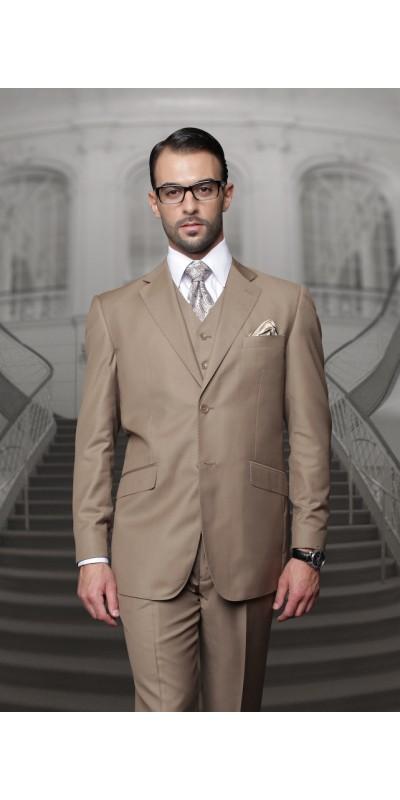 Men's Suit - Regular Fit - Bronze