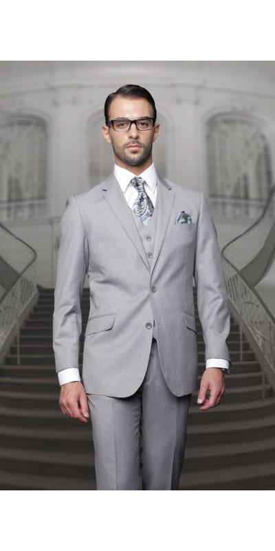Men's Suit - Regular Fit - Grey