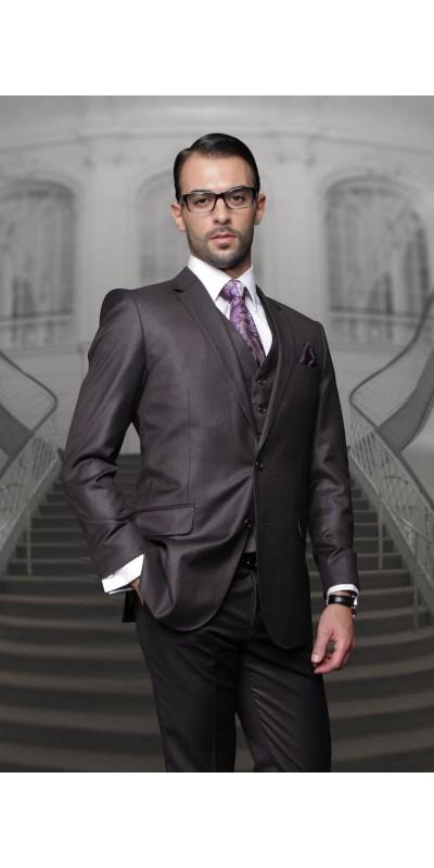 Men's Suit - Regular Fit - H Charcoal