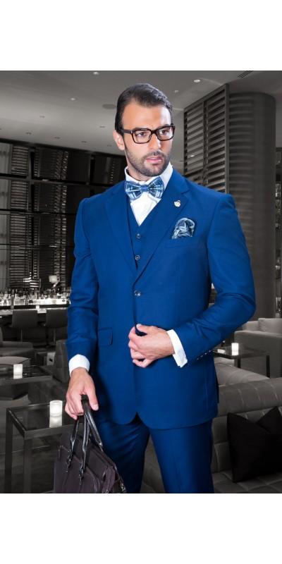 Men's Suit - Regular Fit - Sapphire