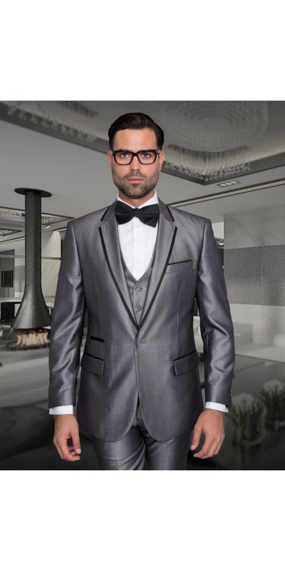 Men's Fashion Tux by STATEMENT - Venetian Silver