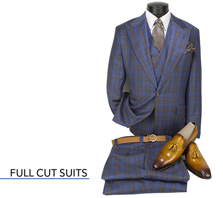 full cut suits